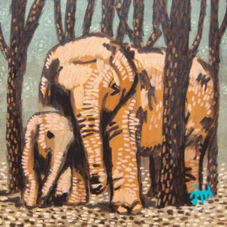 A-wan-elephant-30x30