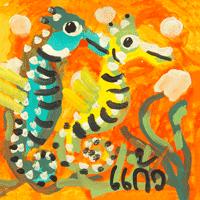 Keaw-Seahorse18X18